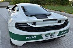 Dubai Police acquire McLaren Adding to its Already Impressive Fleet