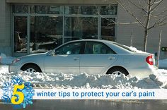 Protect your car in winter