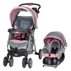 Baby Trend Encore Travel System - Giselle The travel system we just added to our Target Baby registry. Car Seat And Stroller, Travel Stroller, Jogging Stroller, Baby Car Seats, Bugaboo Stroller, Umbrella Stroller, Stroller Blanket, Cat Stroller, Diaper Stroller