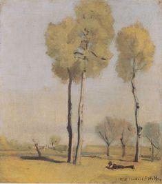 The Athenaeum - Spanish Landscape (Ferdinand Hodler - )