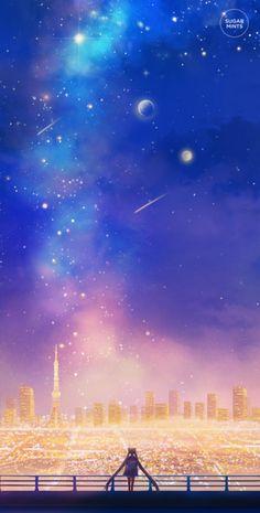 sugarmint-dreams:  Cosmic love.
