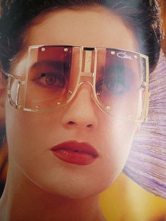 Vintage Cazal Sunglasses Ads, Catalogs and Promo Stuff from the 80s
