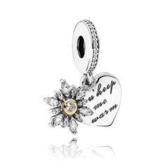 58e199996 PANDORA сердце и снежинка 792012CZ Pandora Charms, Pandora Jewelry,  Christmas Deals, Silver Charms