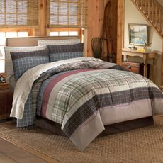 Wyatt Complete Bed Set - Bed Bath & Beyond. I don't picture you and plaid in same room together but just in case I'm wrong