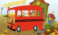 kaatje frits en frats en victor in de bus