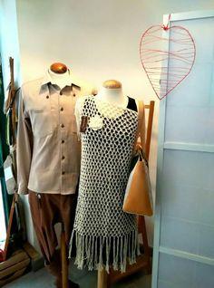 Emparejados!!!  Jersey hecho a mano en 100% algodón natural peruano  #ModaSostenible #hechoamano #moda #fashion #modaartesanal