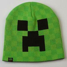 Minecraft Creeper Knit Beanie Hat JINX  http://www.amazon.com/gp/product/B00PO7KWWA/ref=as_li_qf_sp_asin_il_tl?ie=UTF8&camp=1789&creative=9325&creativeASIN=B00PO7KWWA&linkCode=as2&tag=acenorris09-20&linkId=UCISU7FAFYVQYSS3