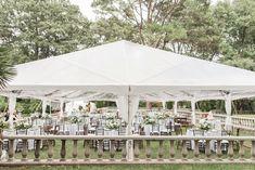 Tented Renaissance Court Reception | Elegant Norfolk Botanical Gardens Wedding | Virginia Wedding Photographer | Audrey Rose Photography