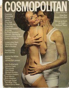 #vintage Cosmopolitan #cover #magazines