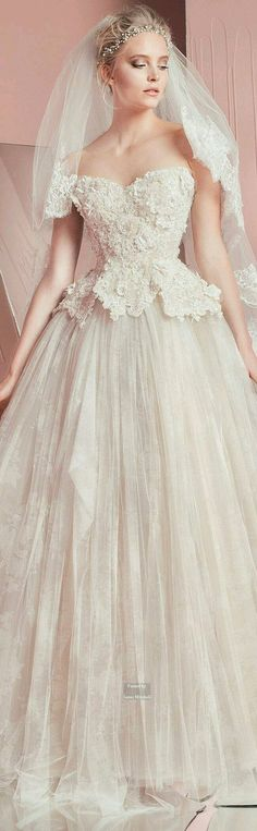 Zuheir Murad_Wedding dress_awesome_2016