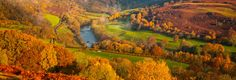 Autumn colours are amazing. Here are some views in Wales to amdire the seasonal views!