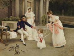 Napoleone padre di famiglia