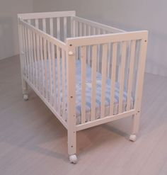 Cuna de bebe lacada blanco Maternal basic 2 [150-B 00]   149,95€ : La tienda online para tu peke   tienda bebe pekebuba.com