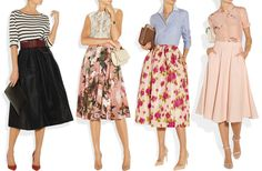 full skirts: fashion trend for Fall 2013