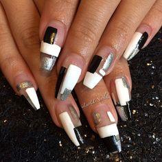 White, Black