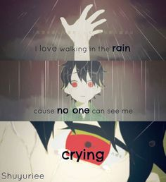 I love rain for that cause