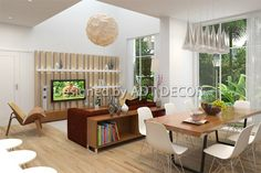 IDD DECOR designs the interior of apartment A3 - Happy Valley Location: Phu My Hung, District 7, HCMC Area: 194 m2, consisting of 2 floors