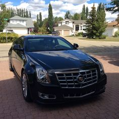 My 2013 Cadillac CTS Coupe