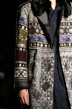 Dries Van Noten F/W 2015 Menswear Milan Fashion Week