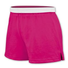 Omni Soffe Cheerleading Shorts Item #: 40SH      Now: $5.95 that's a 34% savings!  50/50 Jersey knit athletic shorts by Soffe© Classic cheerleader cut shorts with V-notch Elastic waistband Youth cheer short sizes available in all colors except Tennessee Orange YXS available in Black, Navy, Oxford, Red, Royal, and White