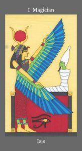 Isis - The Magician Tarot Card - The Dark Goddess Tarot Deck