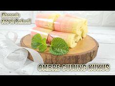 KUE LAPIS GULUNG KUKUS || EKONOMIS DAN ANTI GAGAL || STEAMED OMBRE ROLL CAKE - YouTube