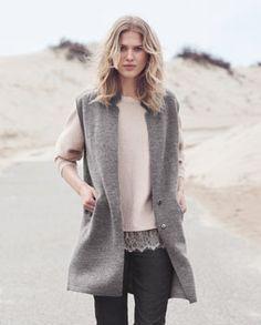 Product Image of Erin sleeveless knitted jacket  #MyWrapFavourites and #WrapLondon