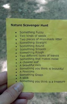I think that scavenger hunts are a great way to have PE overlap with other curriculum such as sciences. It gets the students running around, working with one another, and the student gets autonomy in how they go through the list.