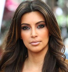 kourtney kardashians new hair color | Kim Kardashian's lighter highlights (PacificCoastNews)