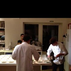 great foodie action with the head chef of six senses