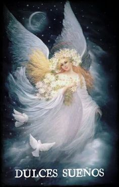 Night Angel by Fantasy-fairy-angel Fairy Wallpaper, Angel Guidance, I Believe In Angels, Angel Pictures, Angels Among Us, Mystique, Angels In Heaven, Gif Animé, Guardian Angels