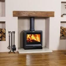 Super Wood Burning Stove Fireplace Fire Surround Log Burner Ideas - Fireplace build ins ideas log burner Wood Burner Fireplace, Fireplace Hearth, Fireplace Surrounds, Fireplace Design, White Fireplace, Fireplace Ideas, Wood Stove Wall, Simple Fireplace, Inglenook Fireplace