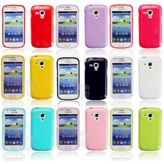 TPU Soft Gel Back Case Cover Case for samsung Galaxy ACE II X 2 X S7560M