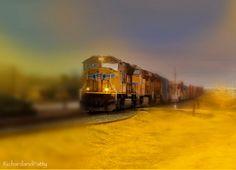 Train Photography  Fantasy  Surreal  Train On by RichardandPatty, $15.00