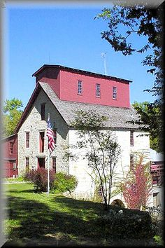 The Old Oxford Mill near Oxford Kansas - photo by Kansas Explorer 3128.