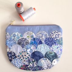 Liberty blues clamshell pouch