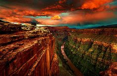 Sunset, Colorado River, Grand Canyon