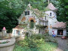 Cottage. the Efteling in holland  i've been there :)