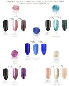 Creating Colour with the Sheer Fantasy Collection