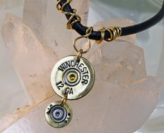 Shotgun Shell Necklace by pbenson4 on Etsy, $40.00