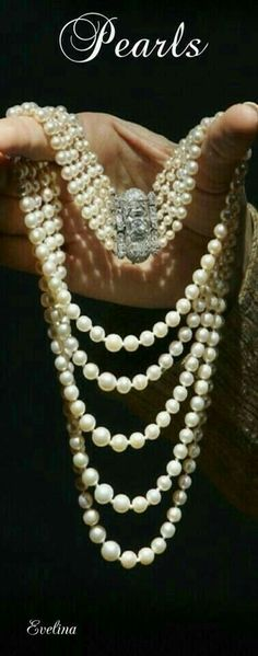 Pearls My Love!! - jewelry womens necklace ring - http://amzn.to/2hR83wC