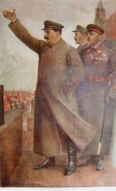 Communist Propaganda, Propaganda Art, Soviet Union Flag, Joseph Stalin, Soviet Art, Military Pictures, Communism, Russian Art, Coat Of Arms