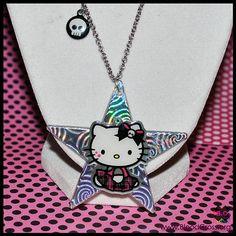 Hello Kitty Punk Necklace on Etsy $15 | Hello Kitty | Pinterest