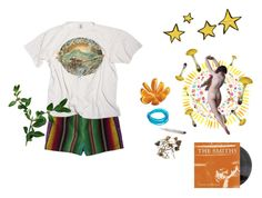 """lets do shrooms and watch avatar"" by wallowingwillow ❤ liked on Polyvore featuring Forever 21 and Paul Frank"
