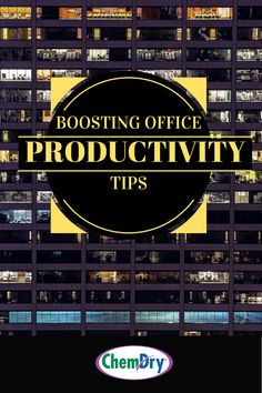 Did you know that office productivity hangs on the cleanliness and organization of the workspace? Get tips to boost efficiency from cleaning experts Commercial Carpet Cleaning, Carpet Cleaners, How To Clean Carpet, The Office, Cleaning Hacks, Productivity, Marketing, Canning, Home Canning