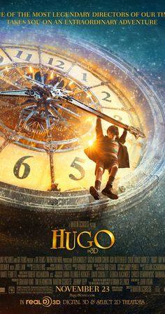 Directed by Martin Scorsese.  With Asa Butterfield, Chloë Grace Moretz, Christopher Lee, Ben Kingsley. Set in 1930s Paris, an orphan who lives in the walls of a train station is wrapped up in a mystery involving his late father and an automaton.