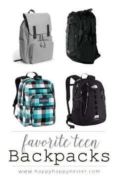 Backpacks for teens are a high priority this time of year. View the what  packs 405210cae7f6c
