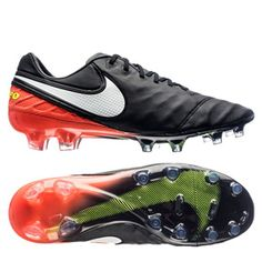 promo code 0aaa5 42430 Nike Tiempo Legend VI FG Soccer Shoes (Black Hyper Orange)   SoccerEvolution