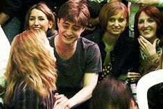 ... rupert grint harry potter * Daniel Radcliffe gifs Emma Watson 1000 hp wizards collection. Last day on set