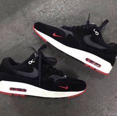 Nike Air Max 1 Mini Swoosh Bred Release Date - Sneaker Bar Detroit ca80b3296